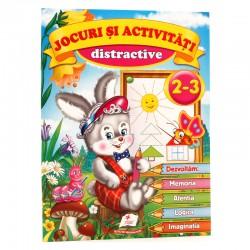 Jocuri si activitati distractive 2 - 3 ani