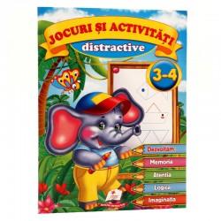 Jocuri si activitati distractive 3 - 4 ani