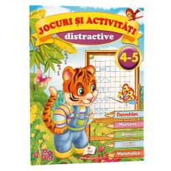 Jocuri si activitati distractive 4 - 5 ani