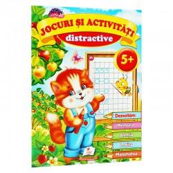Jocuri si activitati distractive 5+ ani