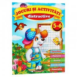 Jocuri si activitati distractive 5 - 6 ani