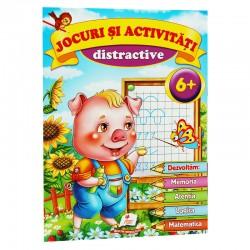 Jocuri si activitati distractive 6+ ani
