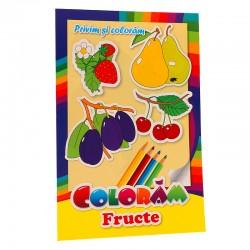 Coloram fructe - Privim si coloram