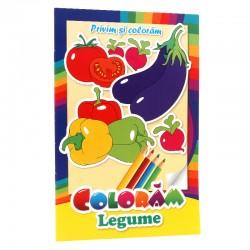 Coloram legume - Privim si coloram