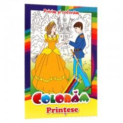 Coloram Printese - Privim si coloram