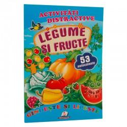 Legume si fructe  + 53 autocolante