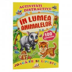 In lumea animalelor + 100 autocolante – Joaca-te si lipeste