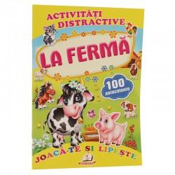 La ferma + 100 autocolante – Joaca-te si lipeste