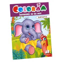 Coloram impreuna cu cei mici – Elefantelul