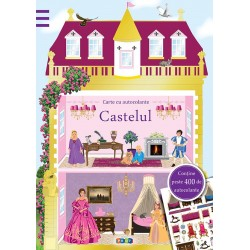 Castelul – Carte cu 400 autocolante