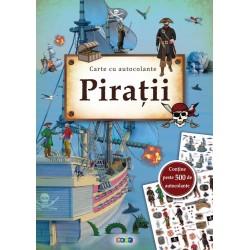 Piratii - Carte cu 500 autocolante
