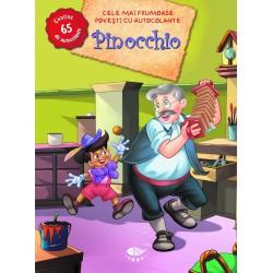 Pinocchio - Cele mai frumoase povești cu autocolante