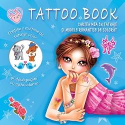 Cartea mea cu tatuaje si modele romantice de colorat - Tatoo Book