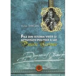 File din istoria vietii si activitatii politice a lui Dimitrie Cantemir – Victor Tvircun