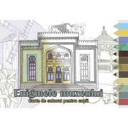 Enigmele muzeului – Carte de colorat