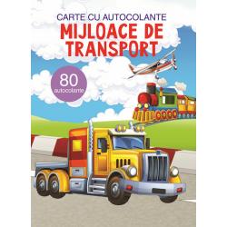 Mijloace de transport - Carte 80 autocolante