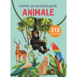 Animale – Carte cu 315 autocolante