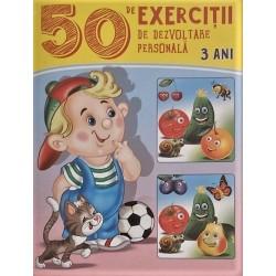 50 de exercitii de dezvoltare personala 3 ani