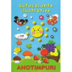 Anotimpuri - Autocolante ilustrative