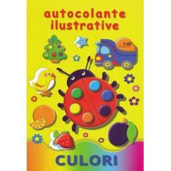 Culori - Autocolante ilustrative