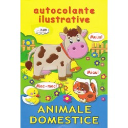 Animale domestice - Autocolante ilustrative