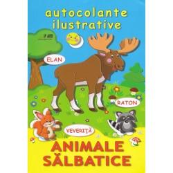 Animale salbatice - Autocolante ilustrative