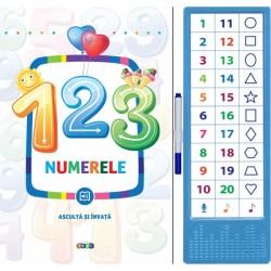 123 Numerele - Asculta si invata