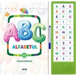 ABC  Alfabetul - Asculta si invata