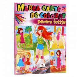 Marea carte de colorat pentru fetite